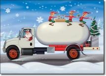 Propane Christmas Truck